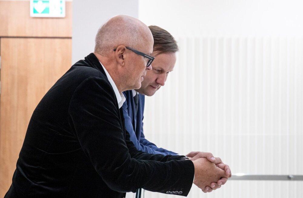 Aivar Tuulberg ja tema advokaat Indrek Leppik