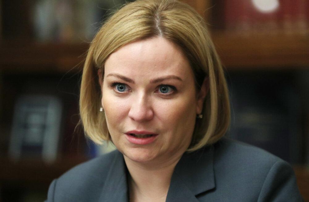 Viirus levib Venemaa valitsuses: nakatus ka kultuuriminister Olga Ljubimova