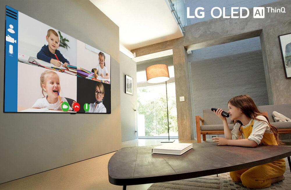 LG OLED TV – лучший телевизор для работы или учебы из дома