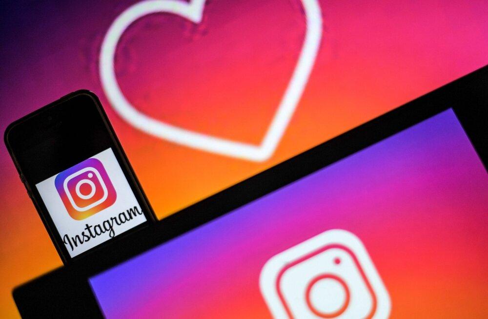 """Esimesed katsed käivad: Instagram kaotabki """"like""""-id ära"""