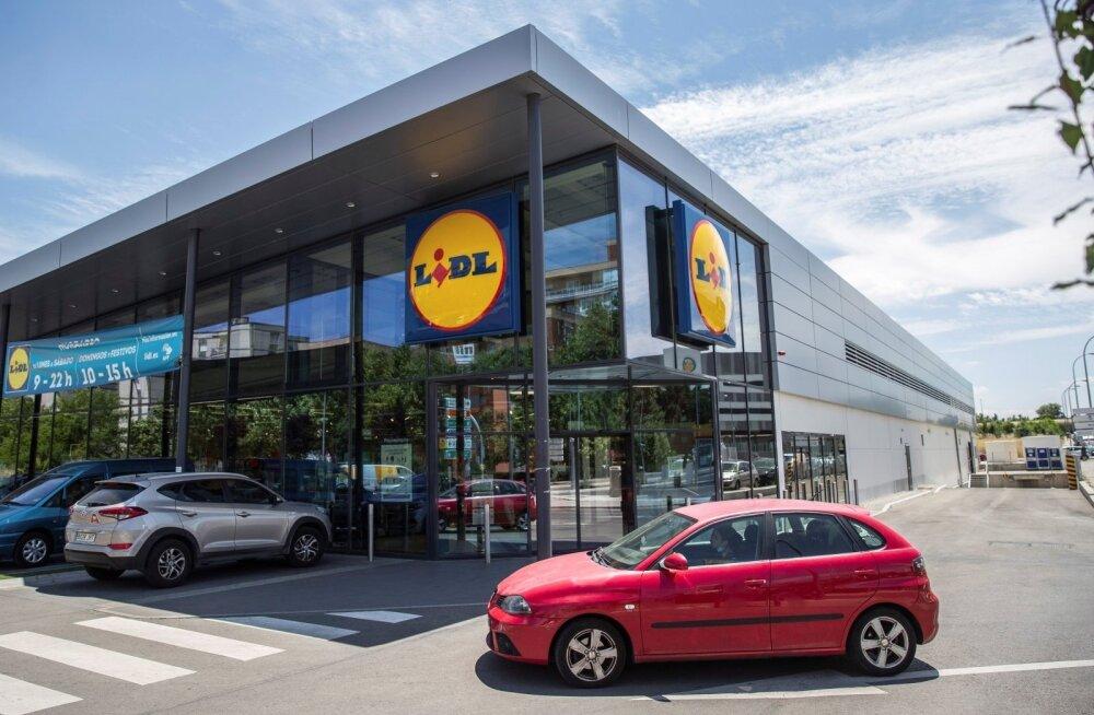 Lidl готовится к открытию своих первых магазинов в Эстонии