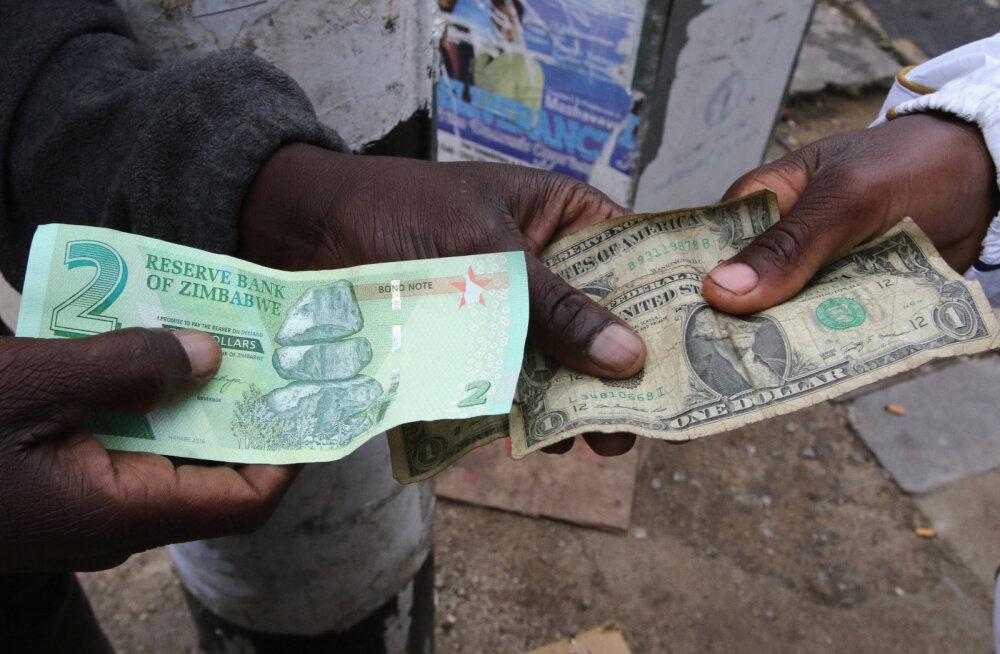 Zimbabwes on jälle hüperinflatsioon lahti. Kuidas see mõjutab igapäevaelu?