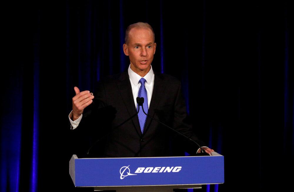 Boeingust vallandatud tegevjuht lahkub firmast 62 miljoniga