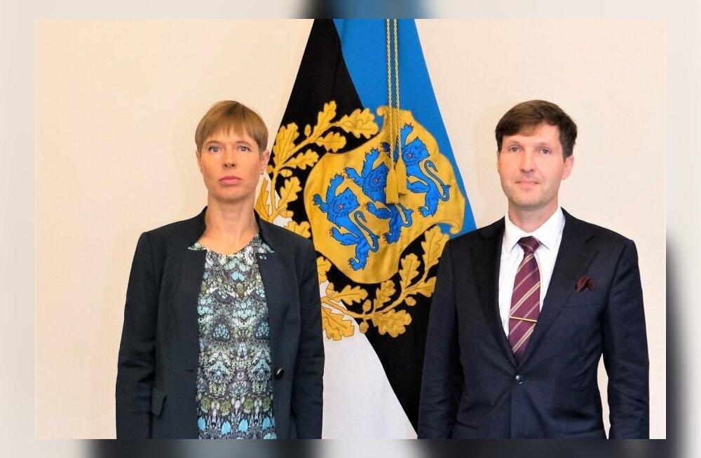 President Kersti Kaljulaid kohtus Kadrioru lossis EKRE esimehe Martin Helmega möödunud sügise alguses. Nüüd see enam ei kordu.