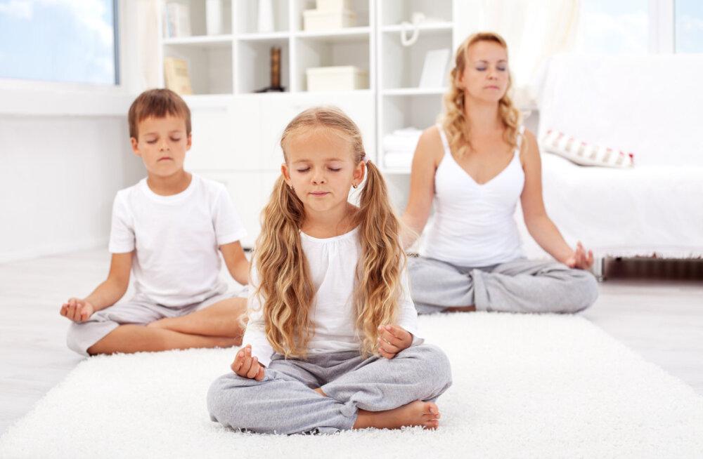 Mida annab jooga lastele?