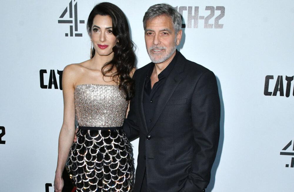Tõeline hurmur! George Clooney avaldas, missuguse romantilise žestiga ta oma abikaasat üllatab