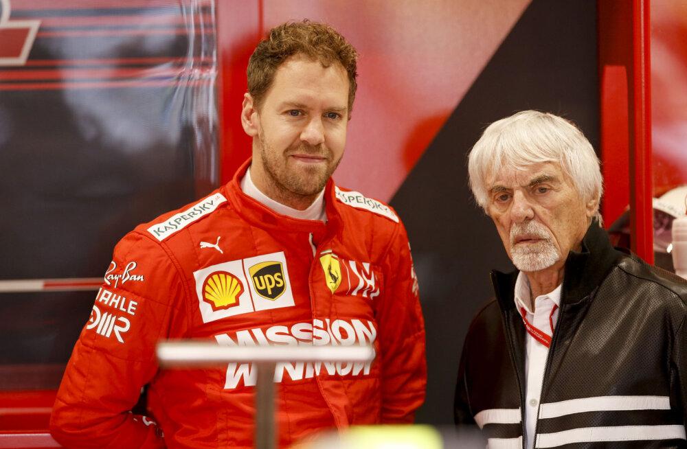 Bernie Ecclestone kiitis Vettelit: pole ühtegi põhjust, miks ta ei võiks Schumacheri rekordit korrata