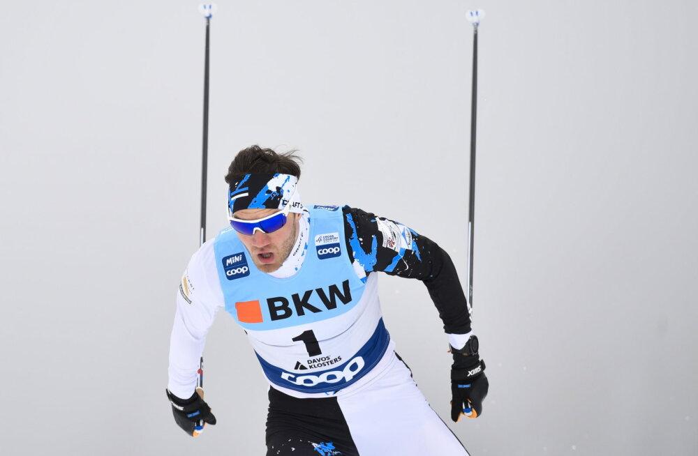 Eesti suusatajatel jäi MK-etapi sprinditeates finaalikohast puudu vaid 0,68 sekundit
