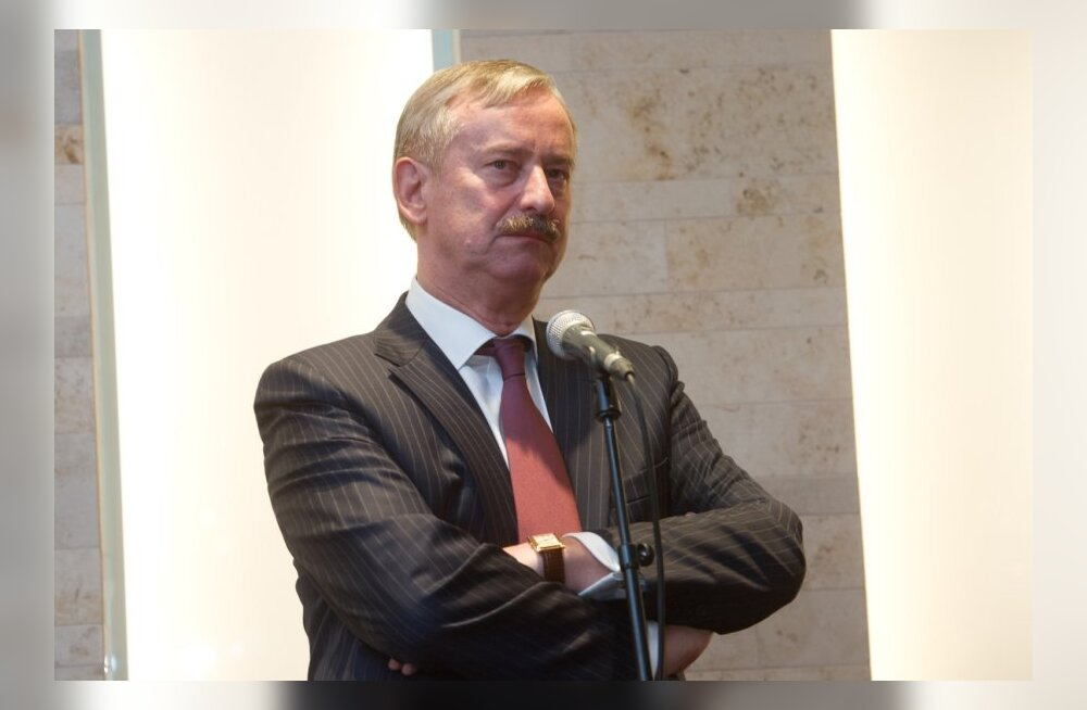 Siim Kallas.Pressikonverents