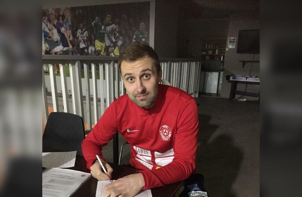 Eino Puri vahetas Norras klubi, aga jäi samasse maakonda