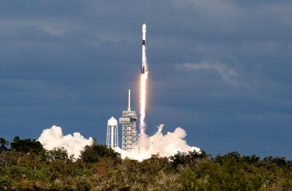 Eestlaste tehnoloogia kosmosesse viinud SpaceX-i rakett purustas rekordeid