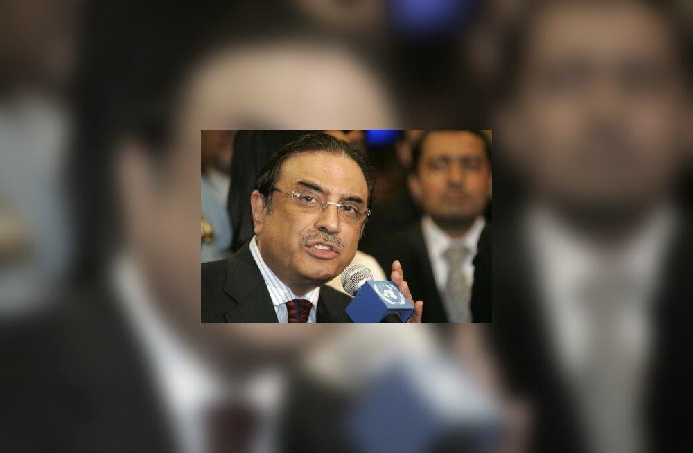 Zardari: Marriotti plahvatus oli mõrvakatse
