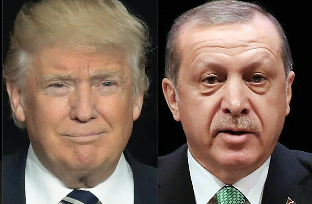Trump õnnitles Erdoğani referendumi võidu puhul