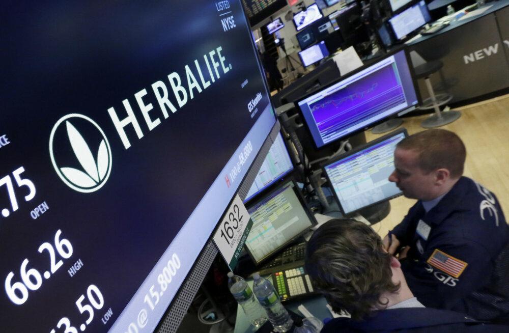 Herbalife maksab USAs 200 miljonit trahvi - vastutasuks saab kinnituse, et pole püramiidskeem