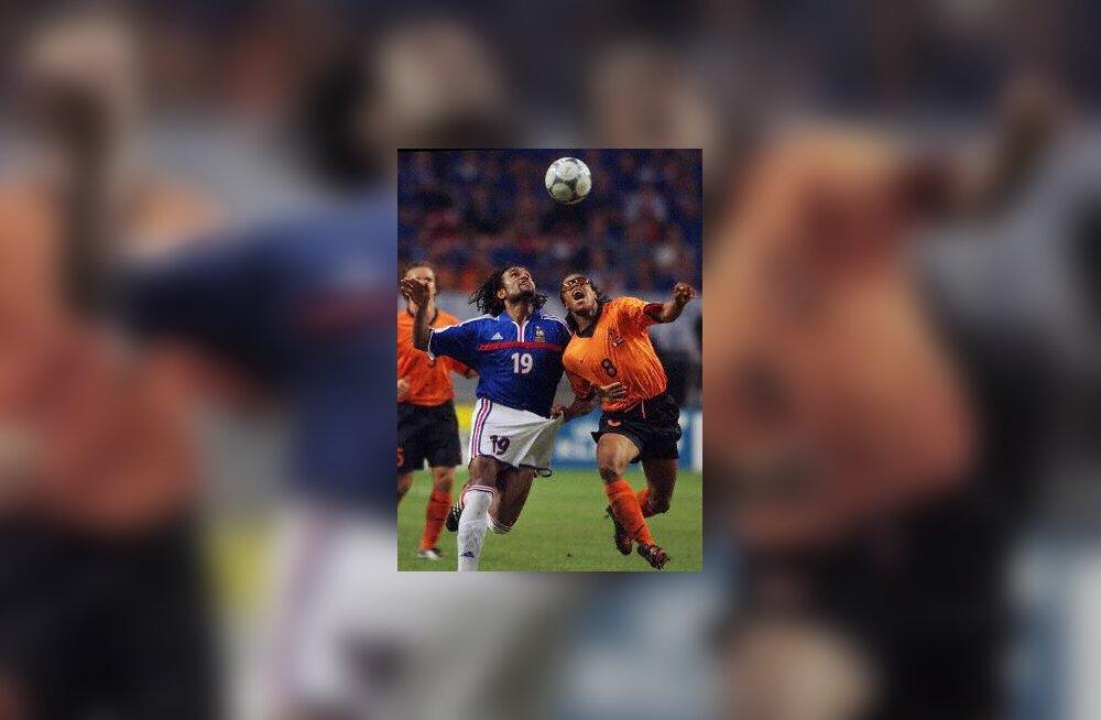 Jalgpalli EM`2000 kohtumine Prantsusmaa-Holland