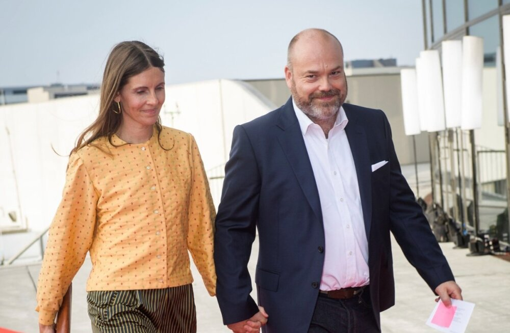 Anders Holch Povlsen koos abikaasa Annega Kopenhaagenis