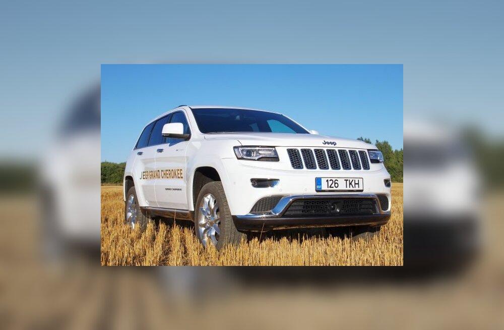 Jeep Grand Cherokee: kaheksa on parem kui viis