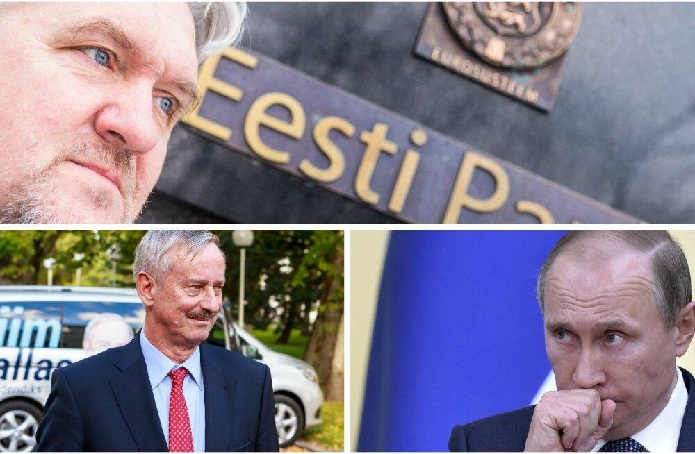 Toomas Kümmel, Siim Kallas, Vladimir Putin