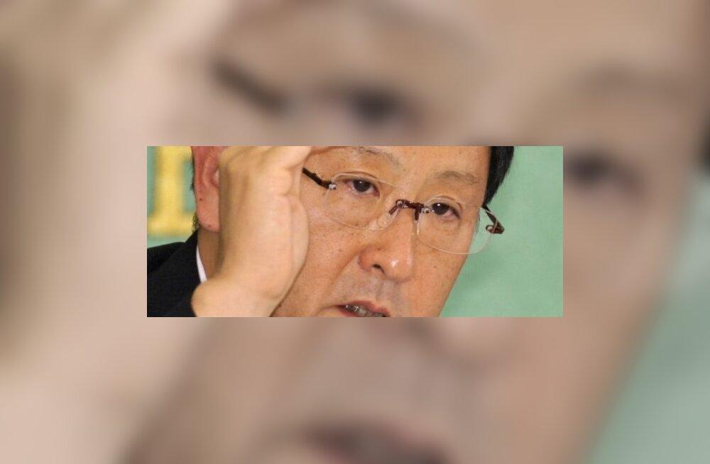 Akio Toyoda katsub klientide usaldust taastada. Foto Yoshikazu Tsuno, AFP