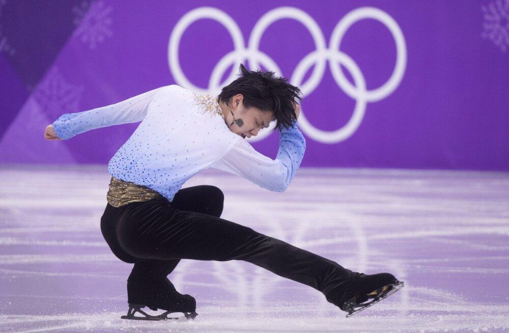 Neli kuud vigastuspausil olnud iluuisutaja püstitas lühikavaga olümpiarekordi