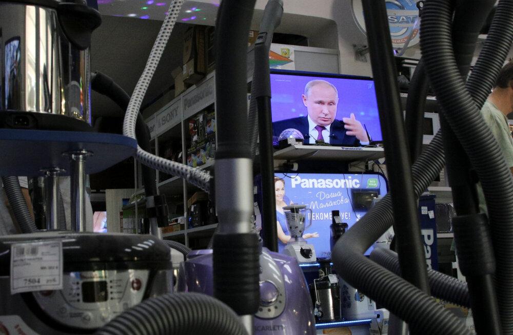 """Журналиста """"Рустави 2"""" временно отстранили от работы после оскорбления Путина в эфире"""