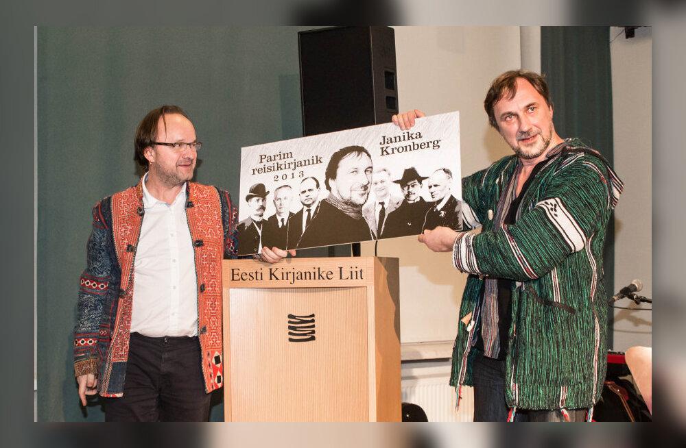 """Parimaks reisiraamatuks valiti Kronbergi """"Rännud kuue teejuhiga"""" ja aasta seikluseks Kalimantani retk"""