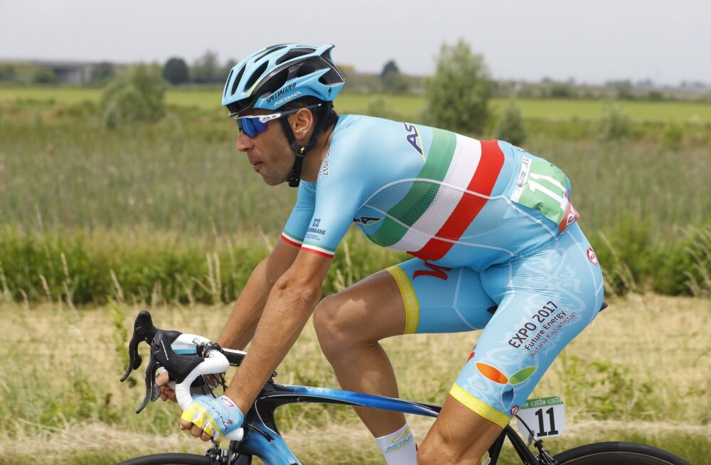 Vincenzo Nibali jätab Giro pooleli?