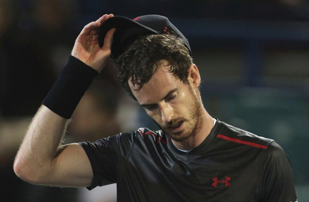 Andy Murray võttis end Australian Openi nimekirjast maha