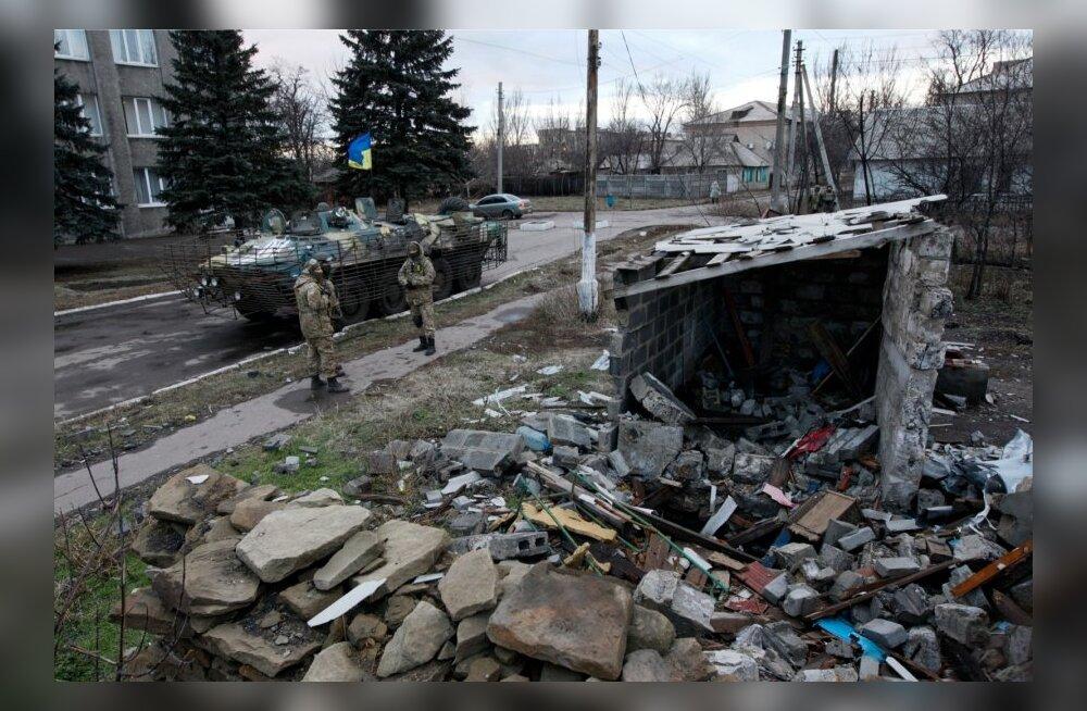 Ukraina mässulised võivad kavandada Ukraina sõdurite kotti võtmist Debaltseve juures