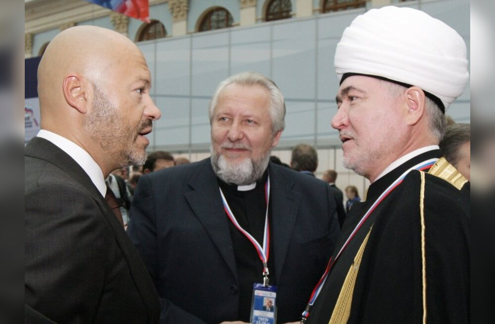 Moskvas algas võimupartei Ühtne Venemaa kongress