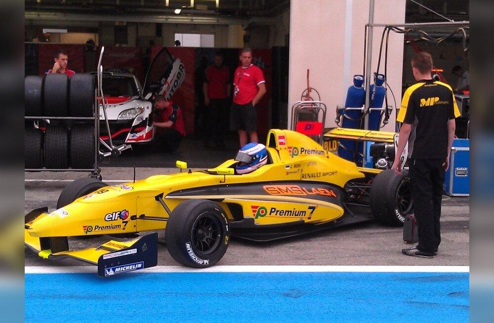 Johannes Moor, vormel Renault