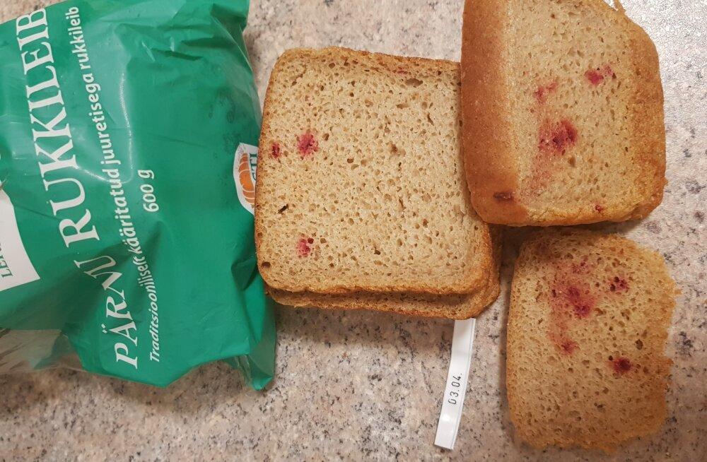 Selverist ostetud leib. Säilivustähtaeg polnud foto tegemise hetkel ületatud.