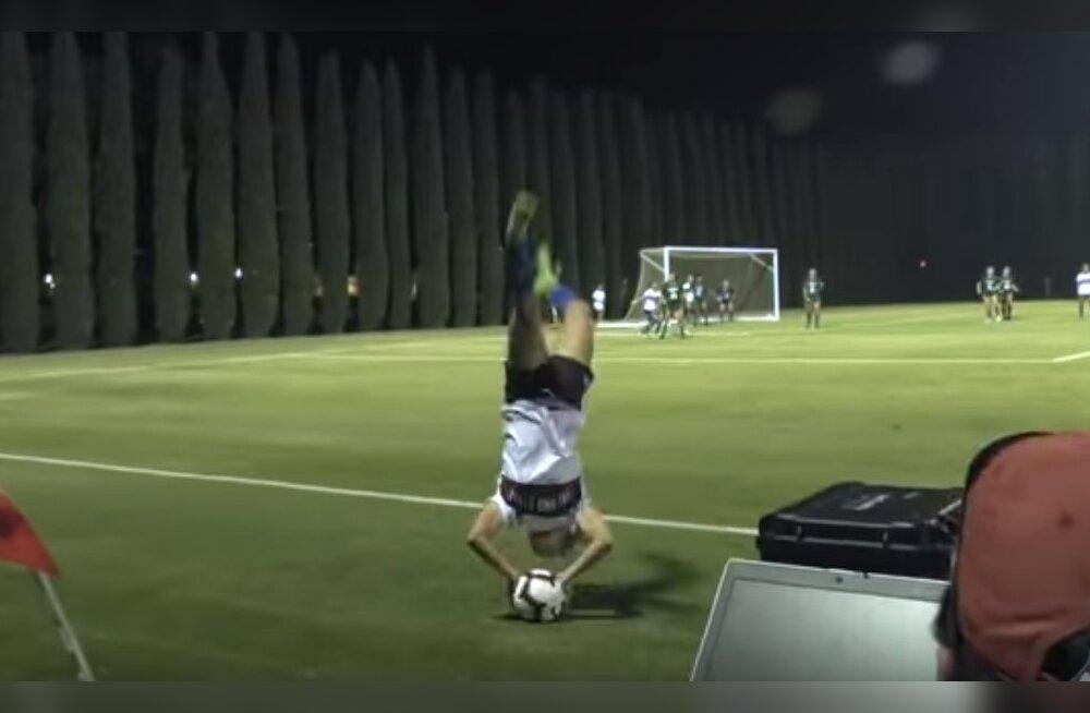 VIDEO | Saltoga audivise USA naiste jalgpallis viis ilusa väravani