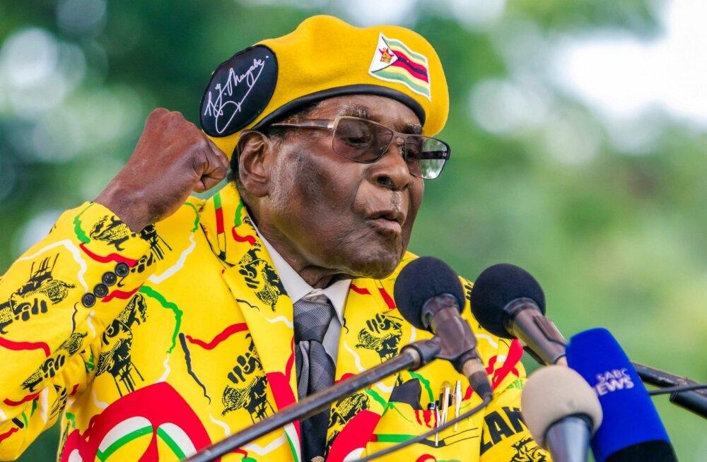 LAV-i president Zuma: Zimbabwe riigipead Mugabet hoitakse kodus kinni