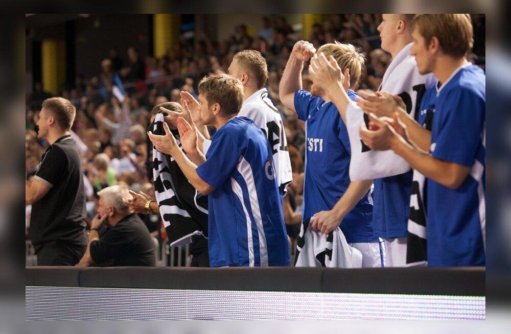 FOTOD: Ajalooline võit! Eesti korvpallikoondis võitis Serbiat!