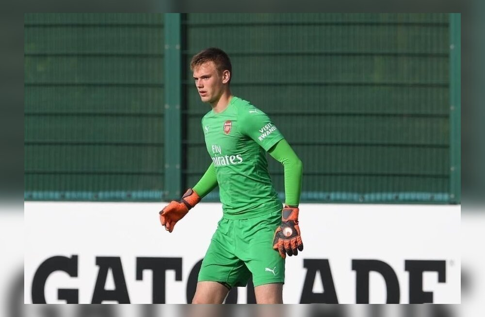 Karl Jakob Heina nullimäng aitas Arsenali noored edasi