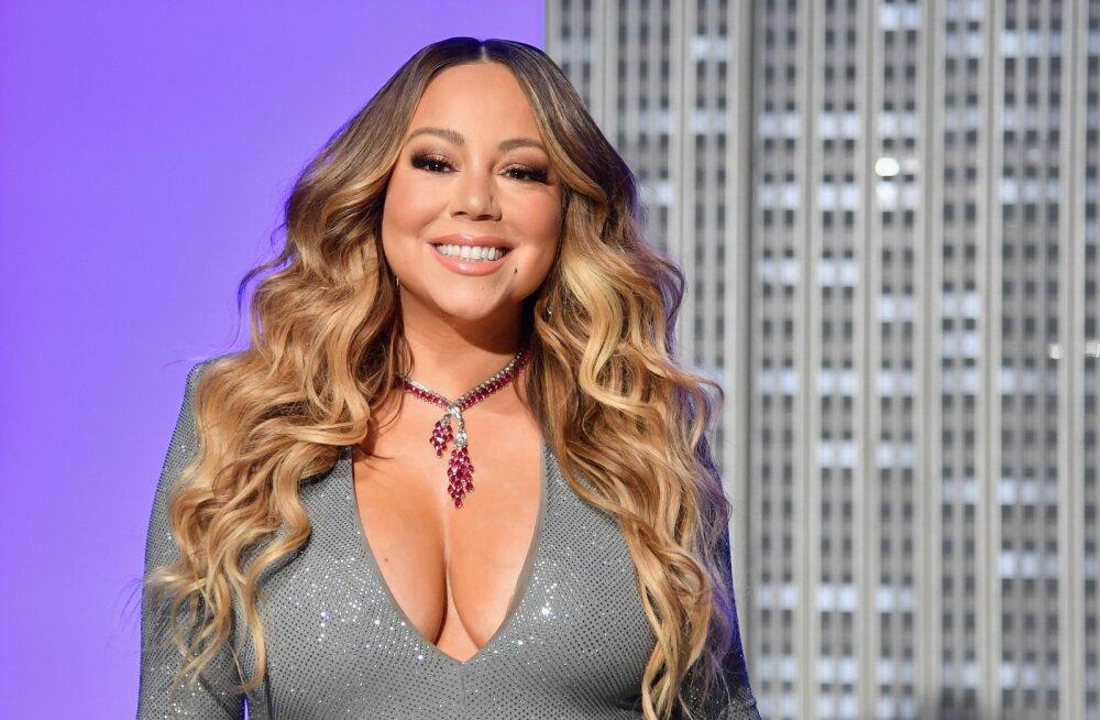 """Maailma kõige tüütum jõululaul? Mariah Carey """"All I Want for Christmas"""" jõudis 25 aastat hiljem Billboardi tippu"""