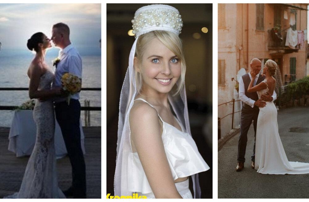 TOP 8 | Eesti kuulsused armastavad pulmi välismaal! Kõige eksootilisemad staaride tseremooniad