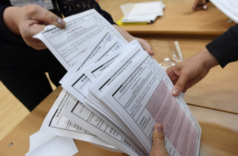 Reuters luges Venemaa valimisjaoskonnas kokku seitse korda vähem hääletajaid, kui ametlikult teatati