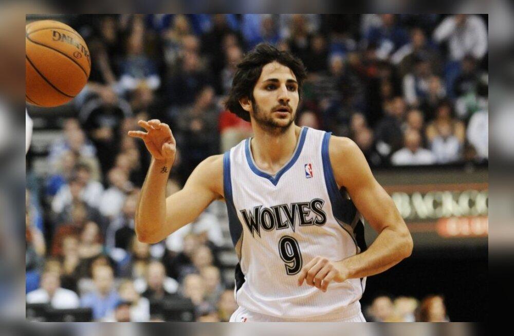 Minnesota Timberwolvesi Ricky Rubio