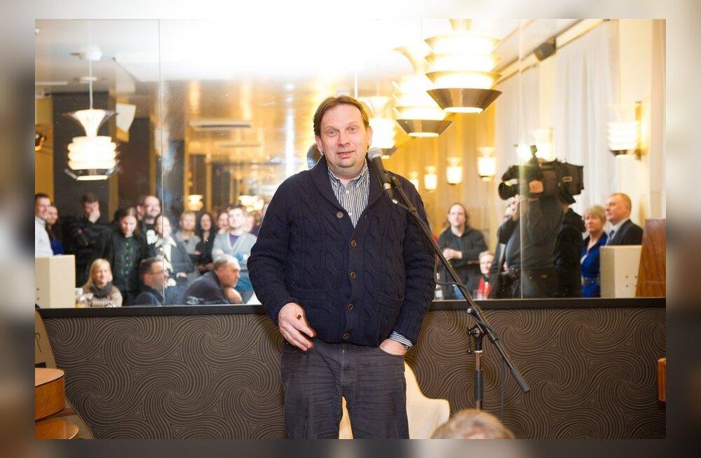 """Juku-Kalle Raidi raamatu """"Eelarve. Friigikogu rahvuseepos"""" esitlus"""