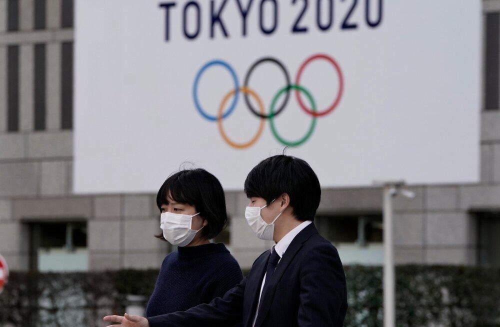 Tokyo olümpiamängud võidakse edasi lükata, kuid peavad toimuma 2020. aasta jooksul.