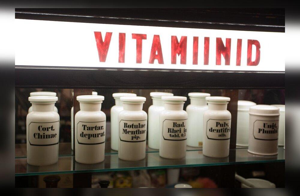 Kodutohter: vitamiinidega viirusevalves