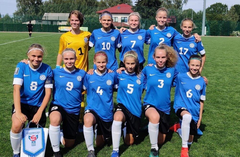 Eesti U15 jalgpallinaiskond