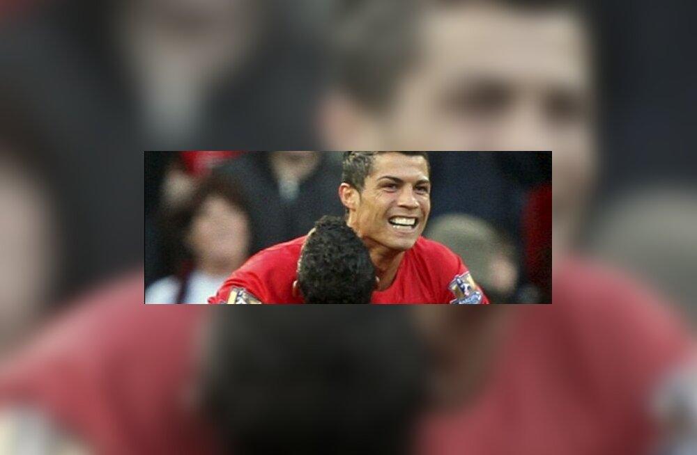 Cristiano Ronaldo ja Nani, Manchester United