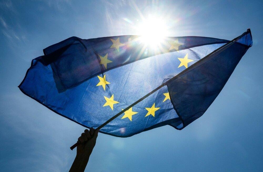 """Исследование: если бы референдум о присоединении к ЕС прошел сейчас, то """"за"""" проголосовало бы 74% жителей Эстонии"""