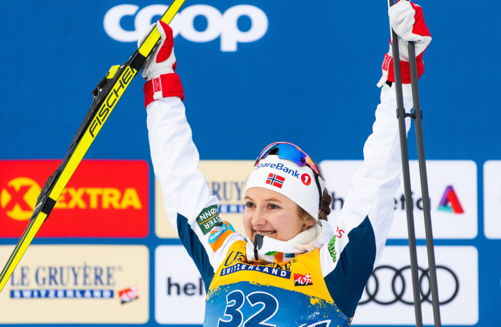 Östberg võttis Johaugilt magusa revanši, Norrale kolmikvõit