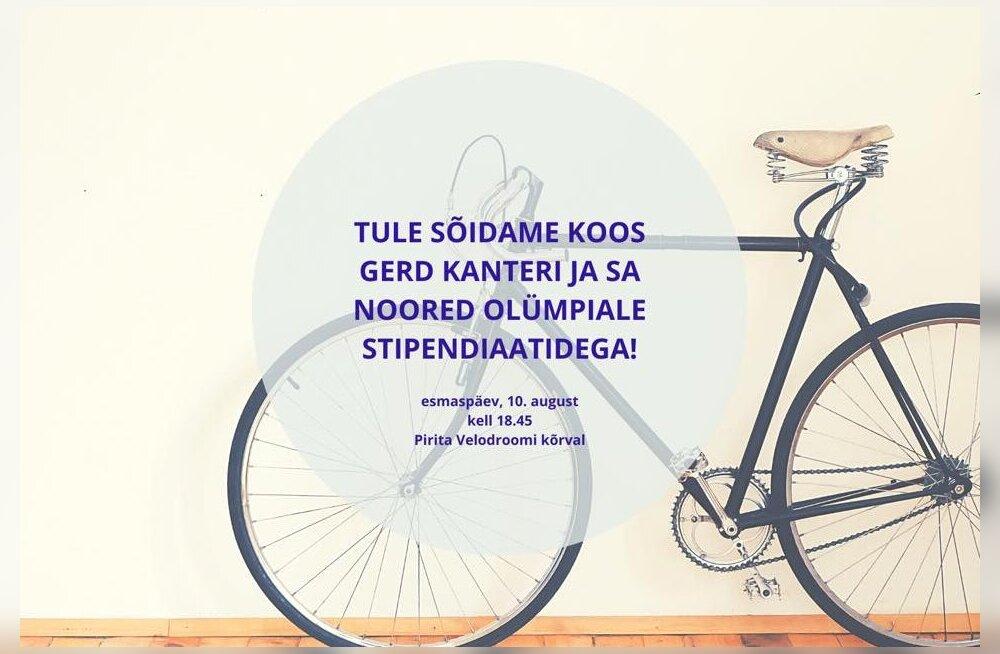 NOORED OLÜMPIALE | Soovid Gerd Kanteriga ratta seljas võidu sõita?