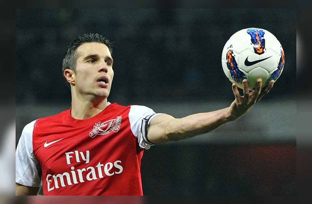 Robin Van Persie Arsenaliga lepingut ei pikenda