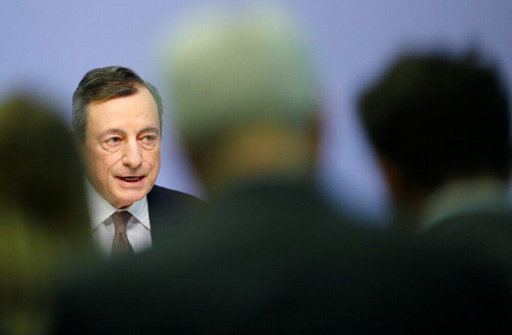 Euroopa Keskpanga president Mario Draghi.